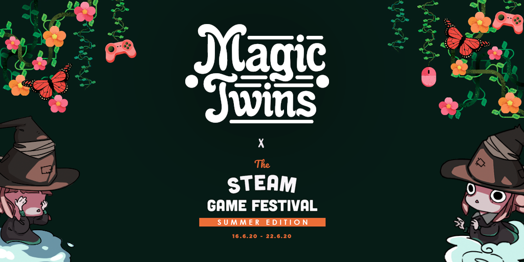 Nueva demo de Magic Twins en el Steam Game Festival
