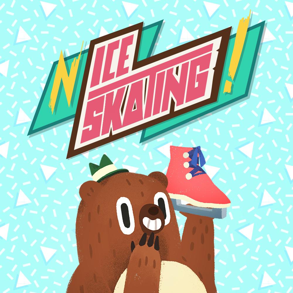 Nice Skating es el nuevo juego de Flying Beast Labs con Fox and Sheep