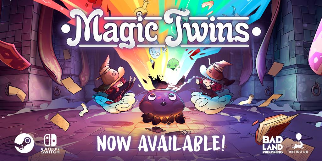 ¡Magic Twins YA A LA VENTA!